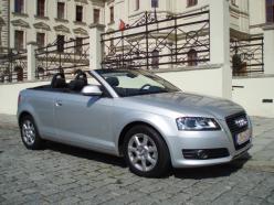 Audi A3 CABRIO 1,9 TDI  NOVÝ VÚZ BEZ přihlášení